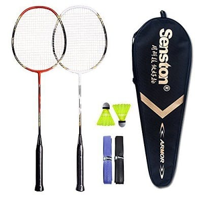 Senston - 2 Player Badminton Racquets Set