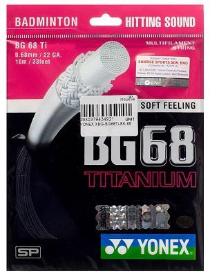 Yonex BG68 Ti Titanium
